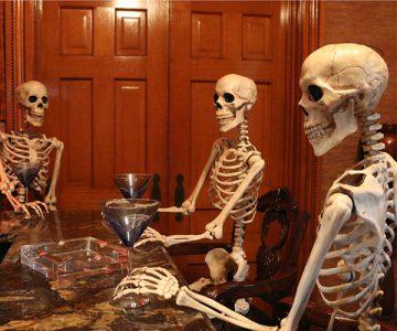5Ft. Tall Full Body Halloween Skeleton