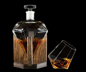 Diamond Whiskey Decanter
