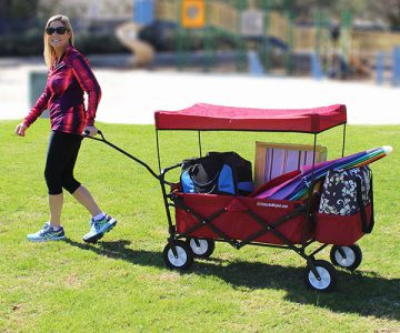 EasyGoWagon Folding Collapsible Utility Wagon