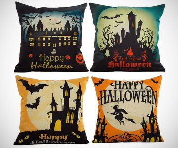 Happy Halloween Pillow Cases