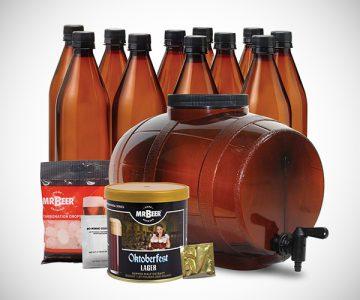 Mr. Beer Oktoberfest Lager Craft Beer Making Kit