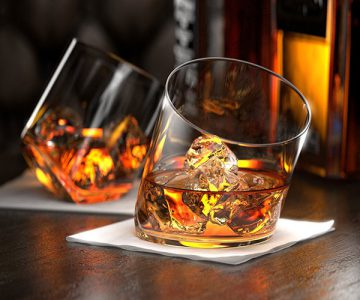 Rocker Whiskey Glasses