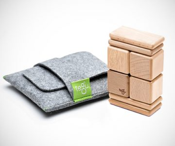 Tegu Pocket Magnetic Wooden Block Set