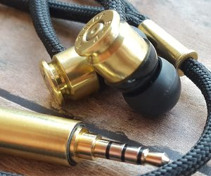 Double Tap R1 Bullet Headphones.