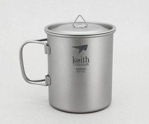Keith Camping Titanium Mug