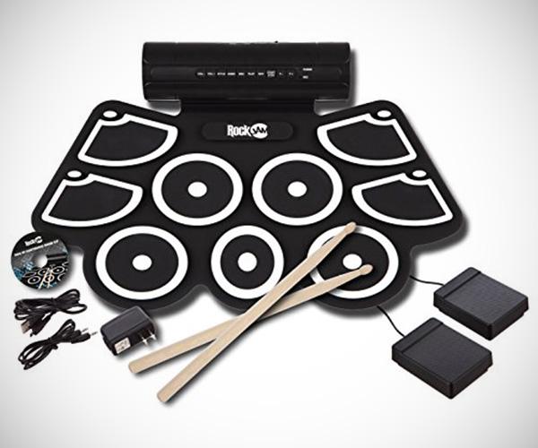 RockJam MIDI Rolling Drum Kit