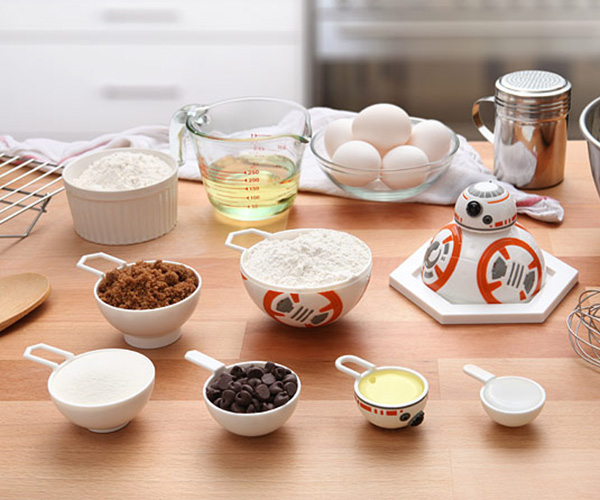 Star Wars BB-8 Measuring Cup Set