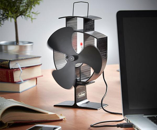 vonhaus blade stove fan with usb cool sh t i buy. Black Bedroom Furniture Sets. Home Design Ideas