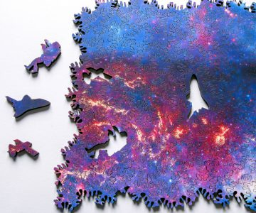 Infinite Galaxy Jigsaw Puzzle
