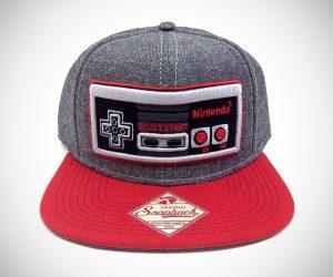 Nintendo NES Controller Snapback Cap
