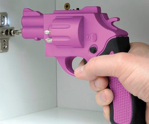 Revolver Shaped Screwdriver