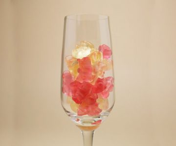 Sparkling Prosecco Flavour Jelly Gummies