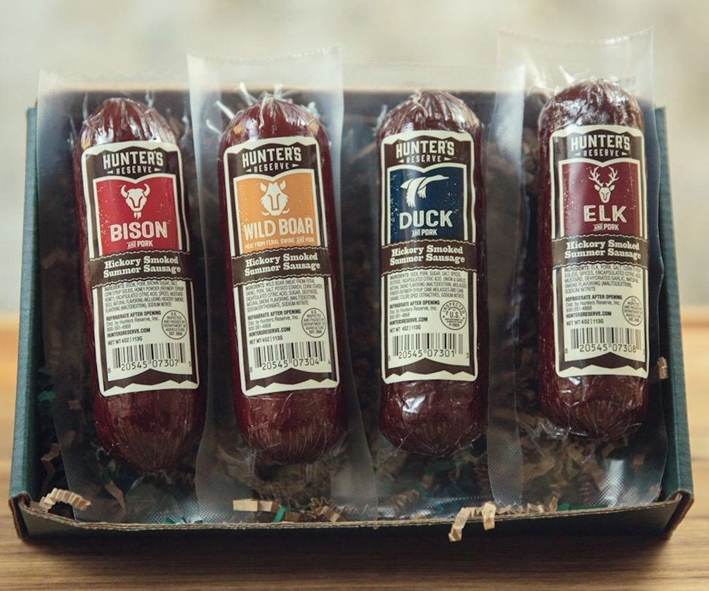 Hunters Delight Summer Sausage Gift Box