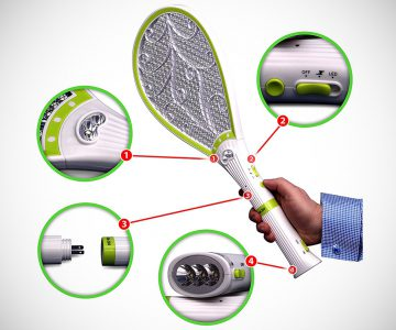 Bug Zapper Mosquito Racket