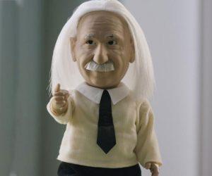 Professor Einstein Genius Robot