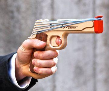 Rubber Band Gun