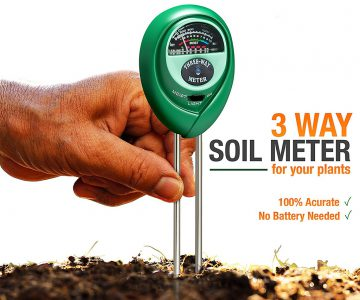 3-in-1 Soil Test Kit - Moisture, Light & pH