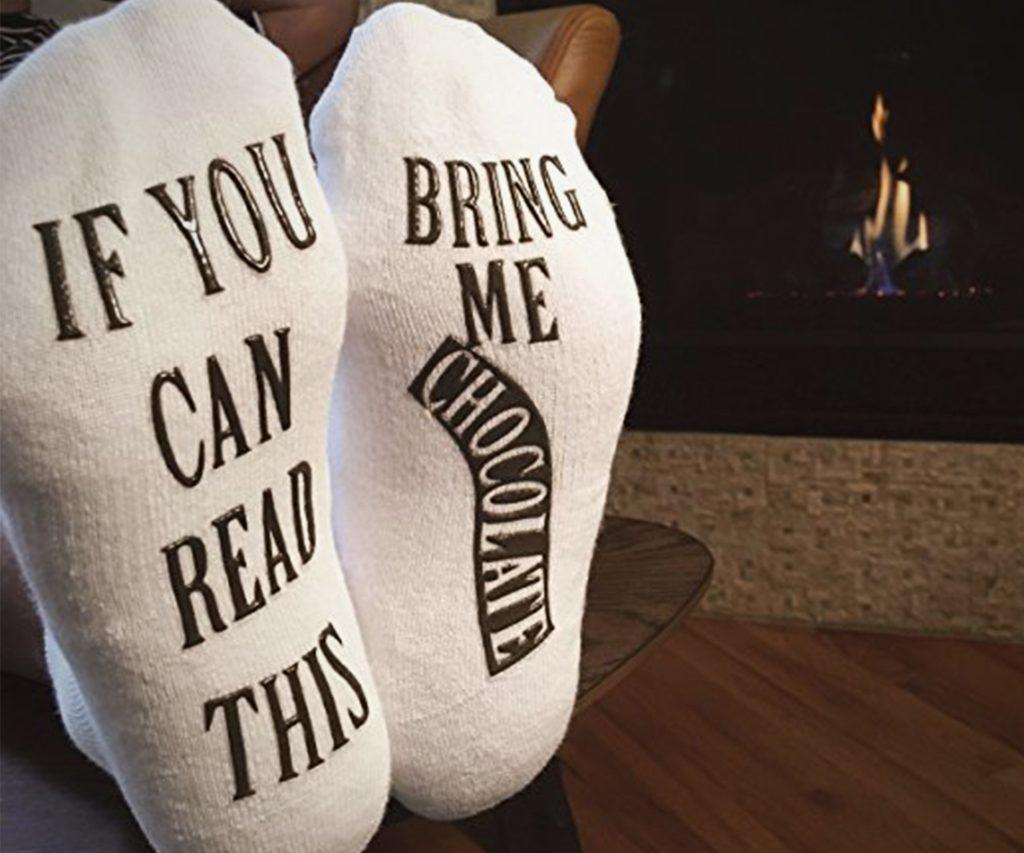 Bring Me Chocolate Socks