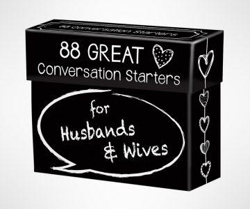 Conversation Starters for Husbands & Wives