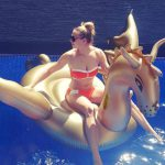 Giant Inflatable Golden Dragon Pool Float
