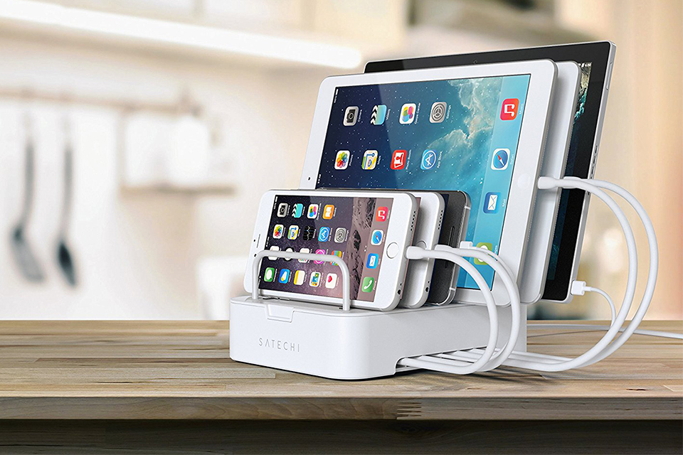 Satechi 6-Port Desktop Charging Station