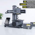 Snapmaker: 3D Printing - Laser Engraving - CNC Carving