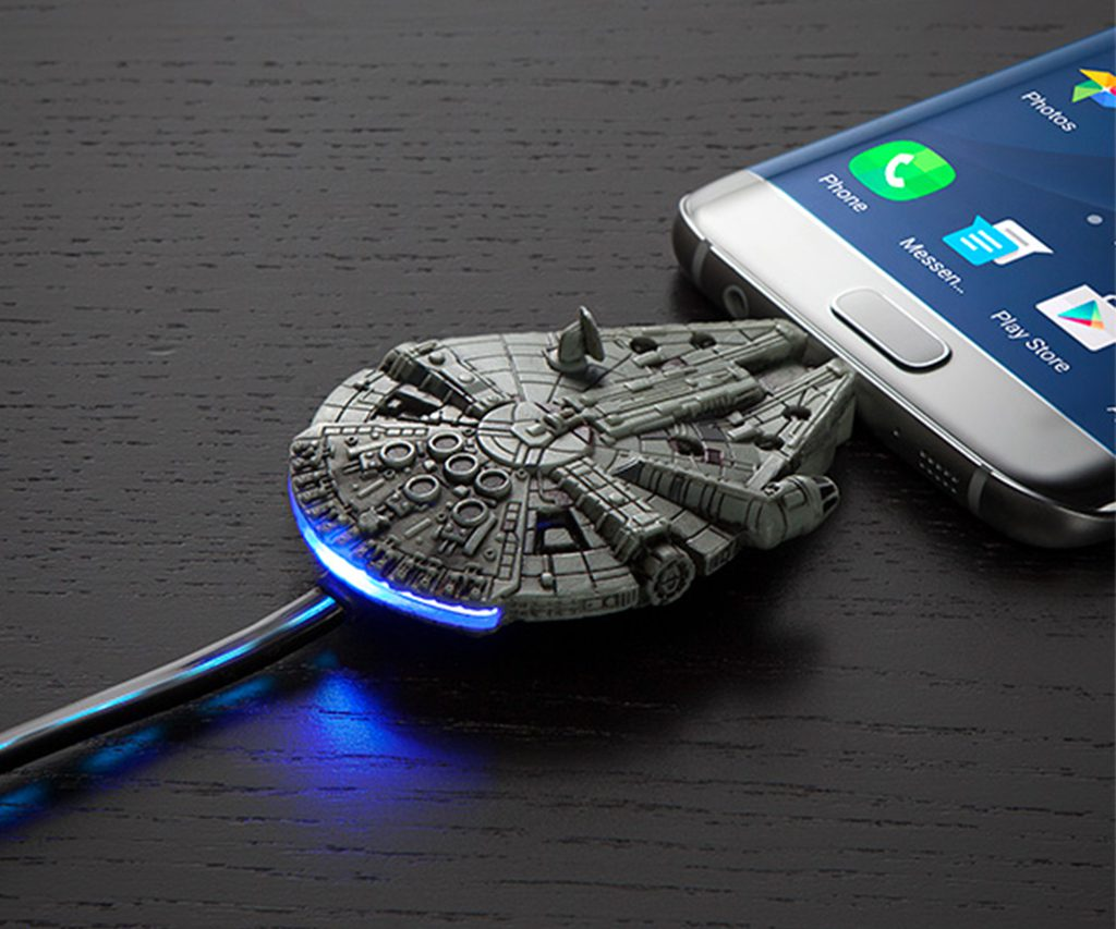 Star Wars Millennium Falcon USB Charging Cable