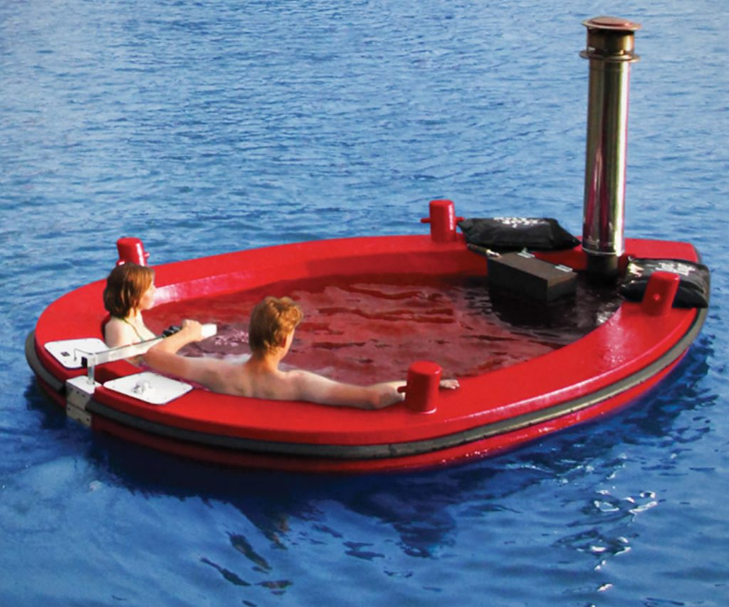 The Amstel Wood-Burning Hot Tub Tug