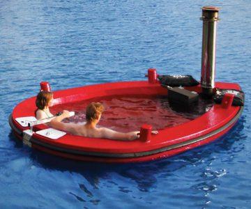 The Amstel Wood-Burning Hot Tub Tug