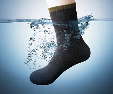 The Dexshell Ultralite Waterproof Socks