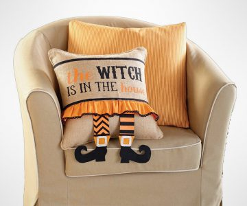 The Witch Is In the house Pillow