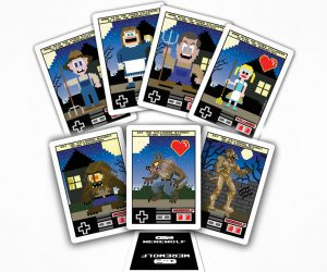 8-Bit Mafia and Werewolf Cards