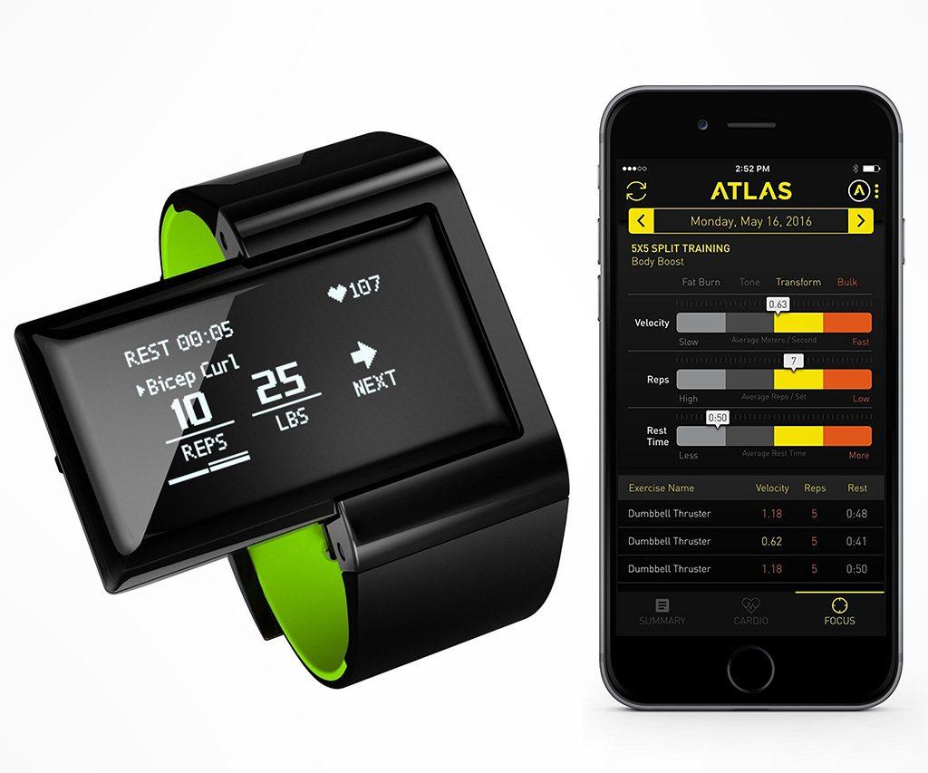 Atlas Digital Trainer & Heart Rate Wristband