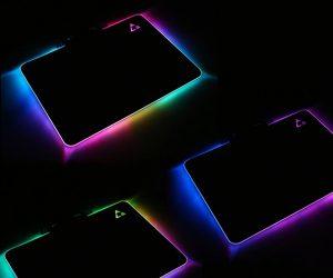Beautiful Tech RGB LED Mousepad
