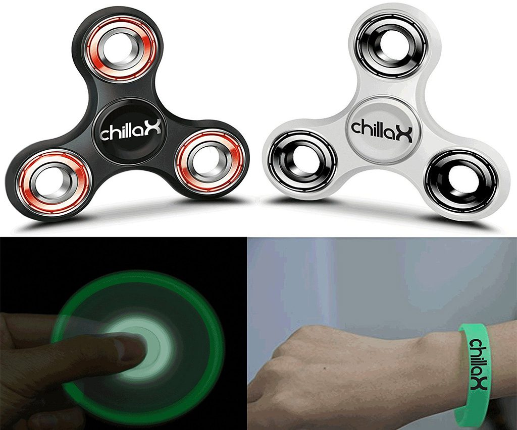 Chillax Fidget Spinner Fidget Toy