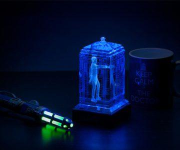 Doctor Who Crystalline TARDIS