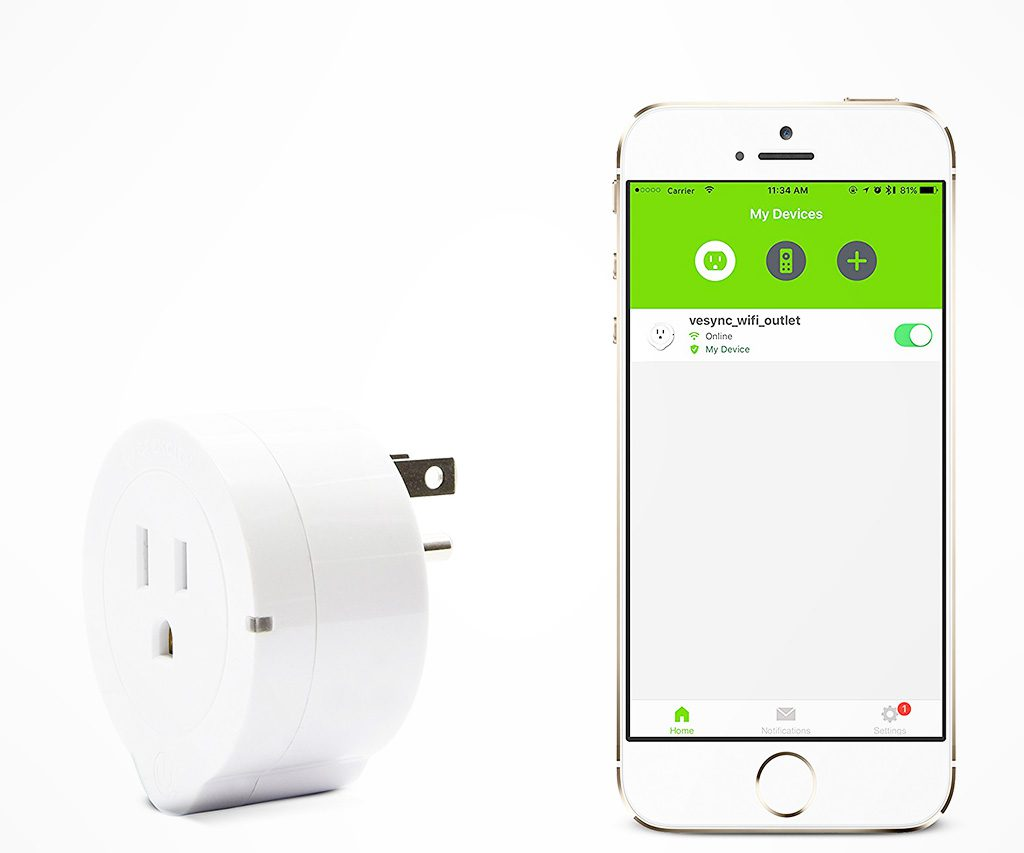 Etekcity Smart Wifi Outlet Plug
