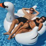 Giant Swan Pool Float