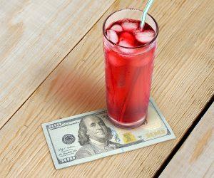 Im Filthy Rich Cocktail Napkins