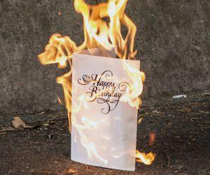 Never-Ending Birthday Card
