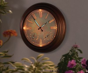 Oversized Lighted Atomic Clock