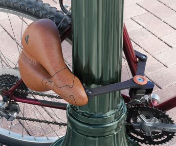 Removable Seat Bike Lock