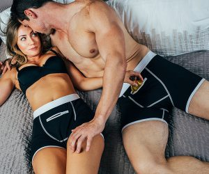 Speakeasy Briefs: Men's Stash Underwear