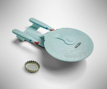 Star Trek The Next Generation Enterprise NCC-1701-D Bottle Opener