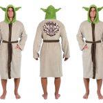 Star Wars Yoda The Jedi Master Fleece Robe