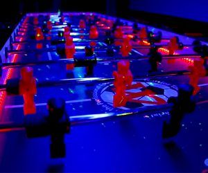 Warrior Force LED Foosball Table