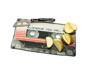 Guardians of the Galaxy Awesome Mix Vol. 2 Chopping Board