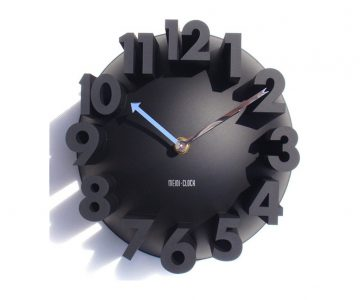 Big Digits 3D Quartz Wall Clock