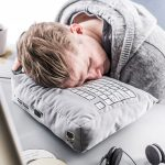 Computer Keyboard Geek Nap Plush Pillow