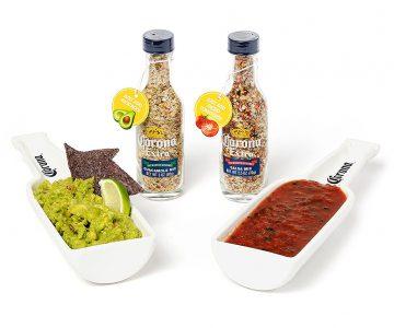 Corona Salsa & Guacamole Dip Set